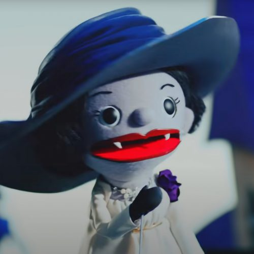Resident Evil Lady Dimitrescu sock puppet show: Here's the rough translation