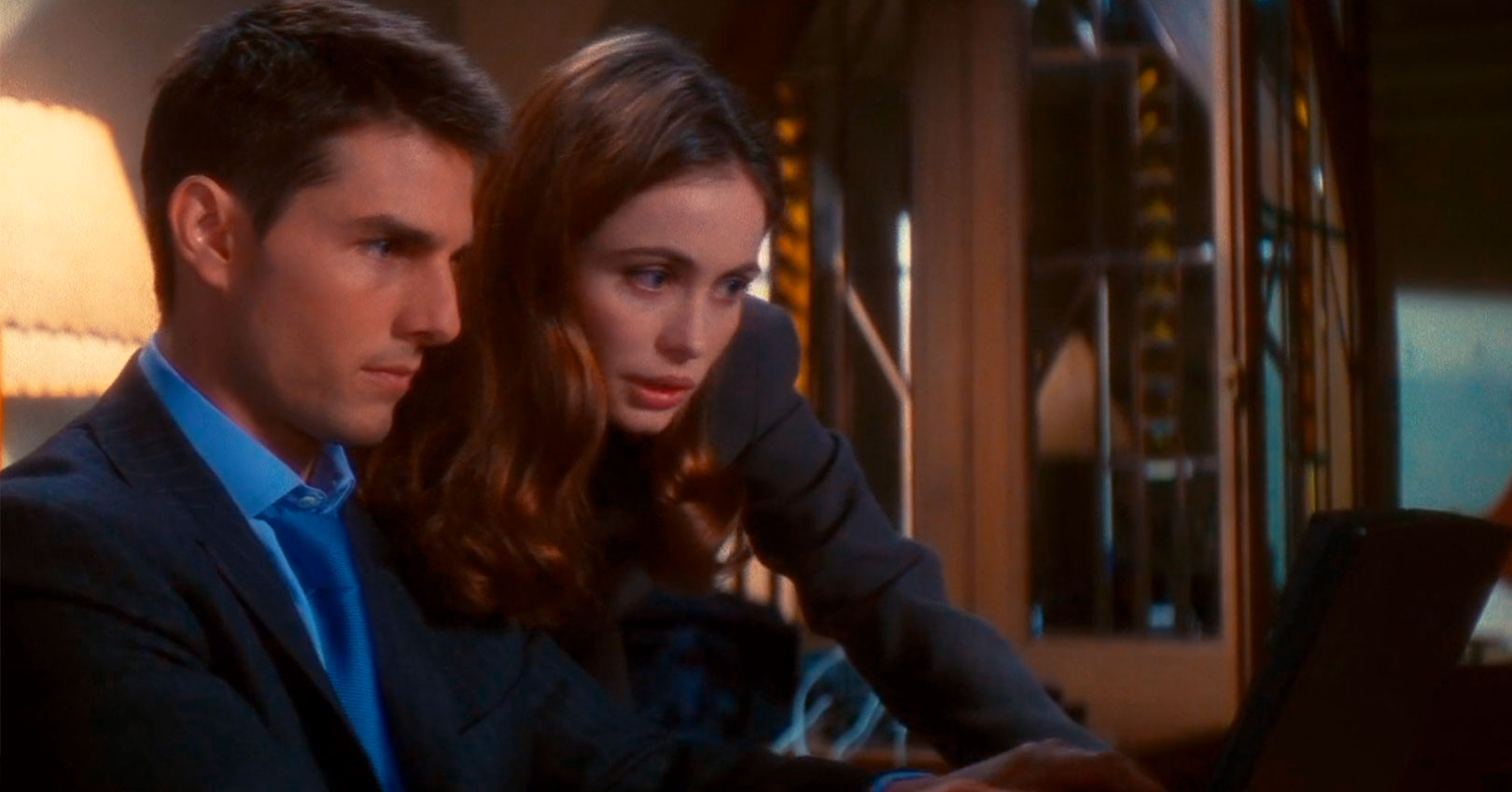 Mission: Impossible - Tom Cruise and Emmanuelle Béart