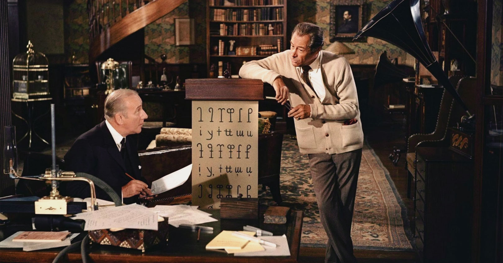My Fair Lady - Wilfred Hyde-White and Rex Harrison