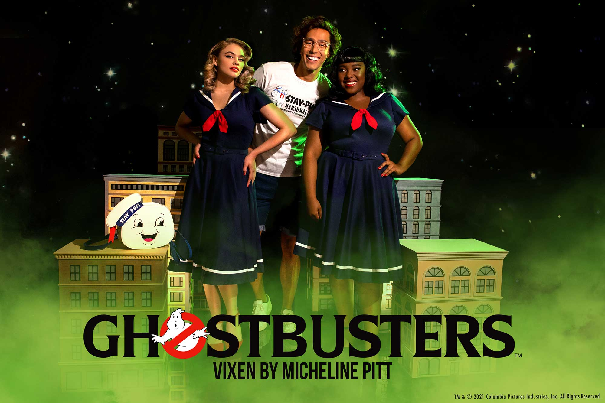 Vixen by Micheline Pitt Ghostbusters clothing