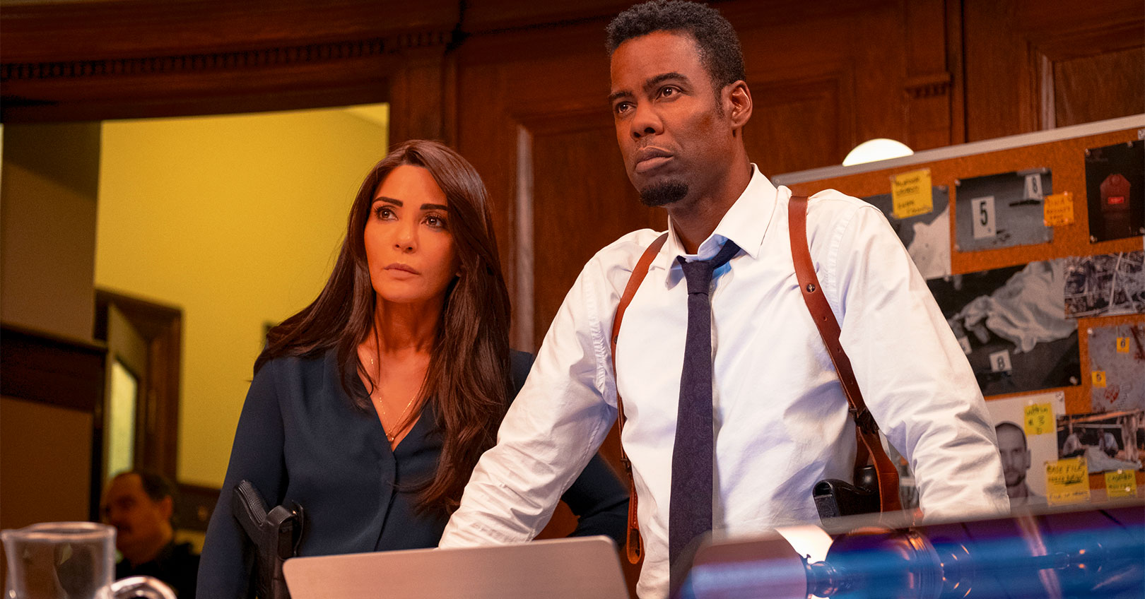 Spiral: From the Book of Saw - Marisol Nichols and Chris Rock