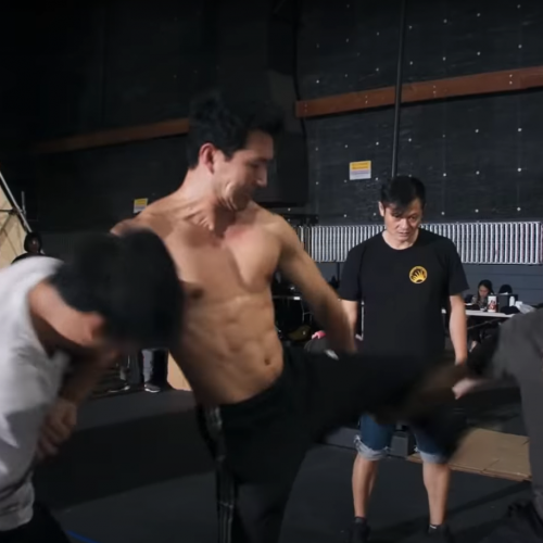 Shang-Chi and the Legend of the Ten Rings Featurette Shows Behind-the-Scenes Fight Choreography