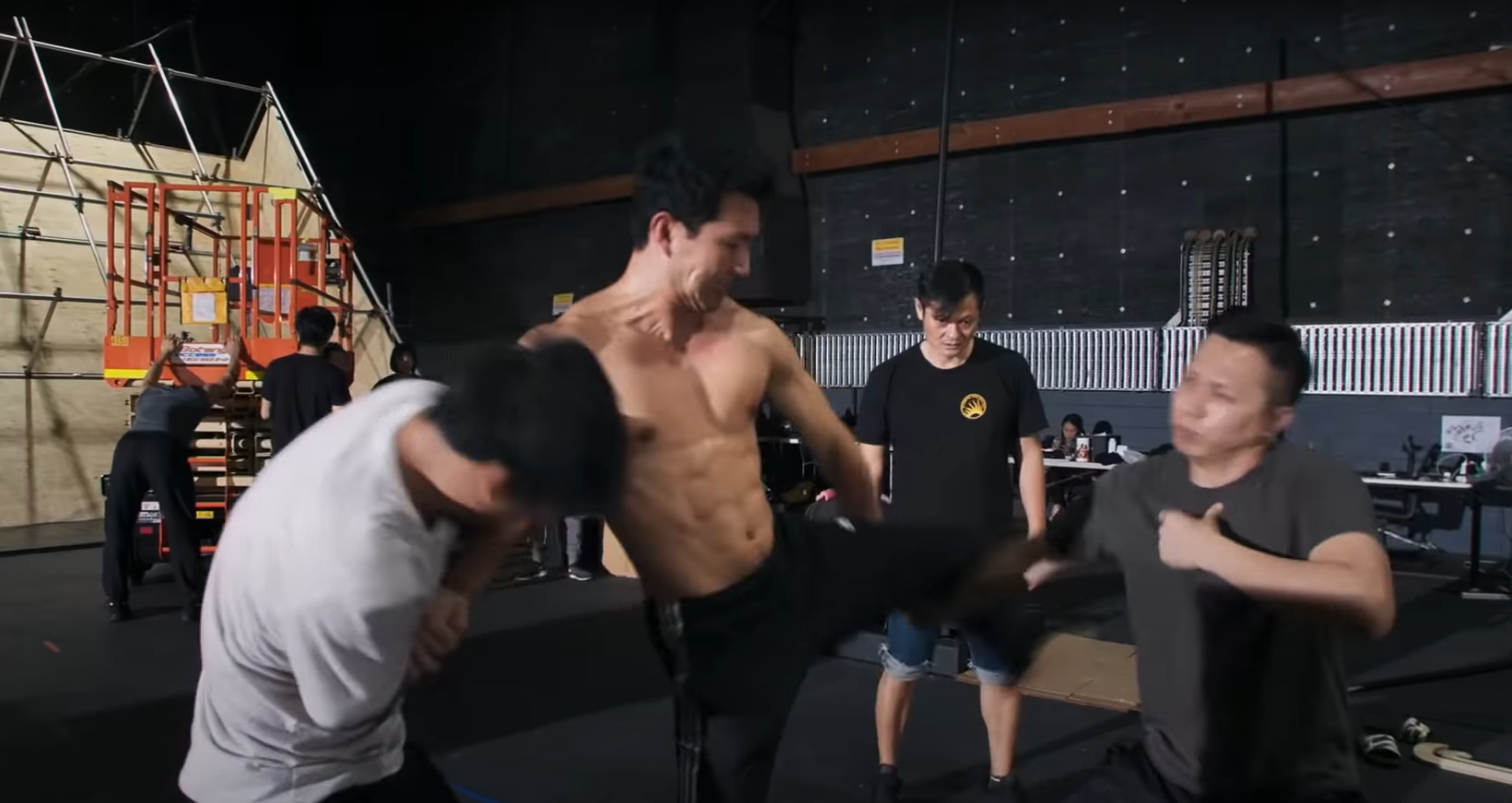 The time when the actor Simu Liu was ready for the fight to tackle his next opponent.