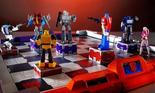 This Transformers Chess Set Will Cost You $600