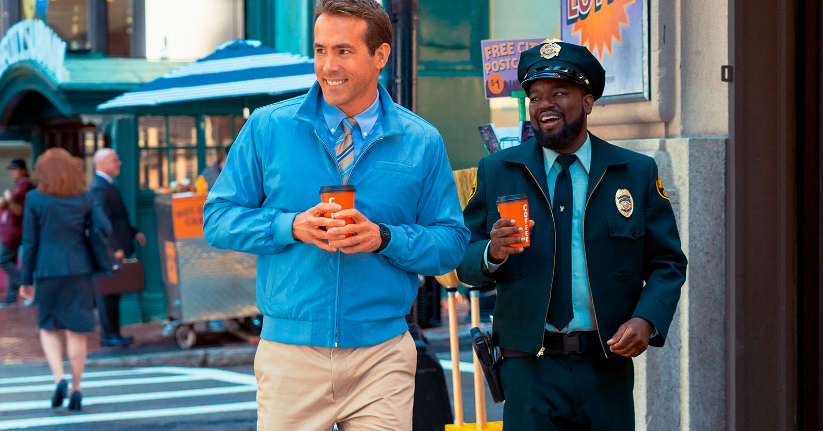Free Guy - Ryan Reynolds and Lil Rel Howery