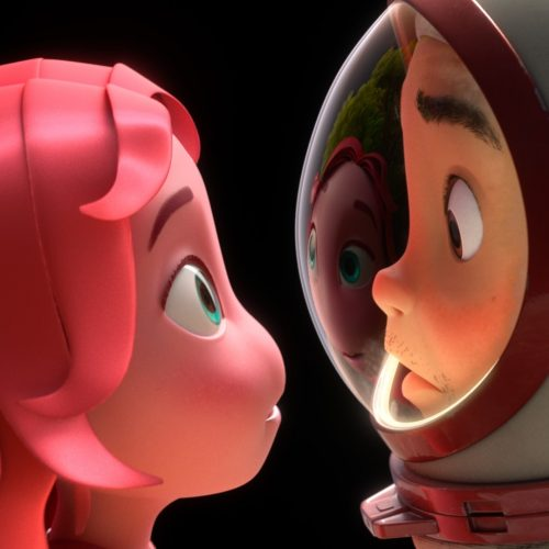 Trailer for Blush, Apple TV+'s Animated Short, Goes Into Space