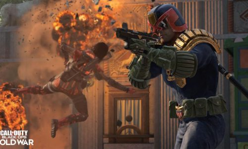 Judge Dredd Pack in Call of Duty: Black Ops Cold War, Warzone Available for Limited Time